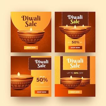 Diwali sale instagram posts