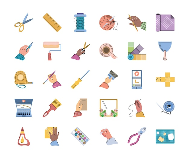 Набор инструментов для творчества своими руками