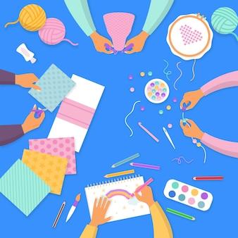 Diy creative workshop