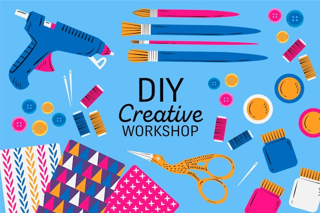 Diy creative workshop