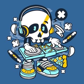 Мультфильм dj skull