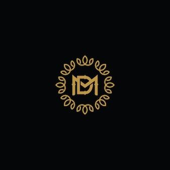 Концепция логотипа dm