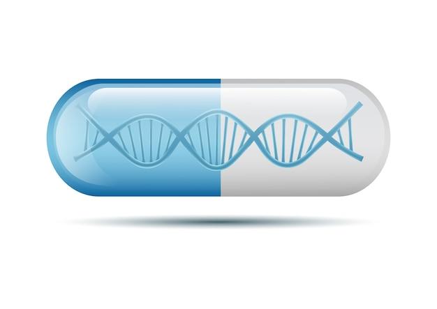 Днк капсула таблетки изолированные