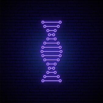 Dna neon sign