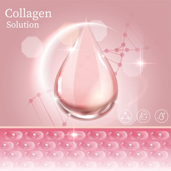 Dna protect collagen solution