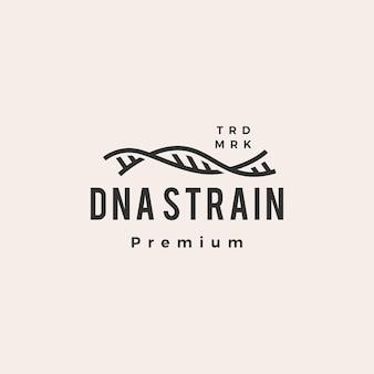 Dna strain helix hipster vintage logo