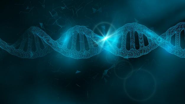 Dnaと科学の背景