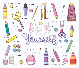 Do it yourself cartoons with craft supplies