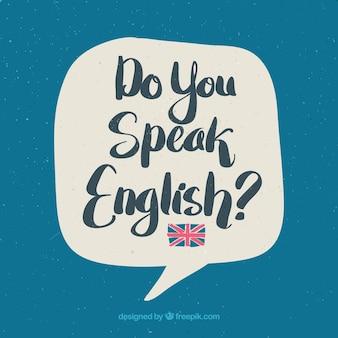 영어 글자 배경을 말하세요