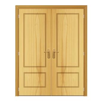 Doble door background