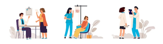 Doctor appointment illustration