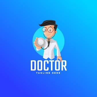 Шаблон дизайна логотипа доктора