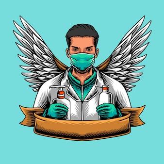 Doctor medical corona virus