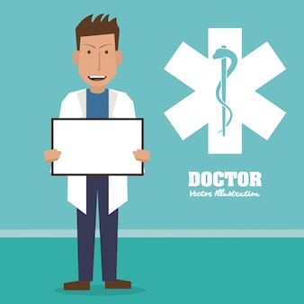 Doctor, medical and healthcare concept