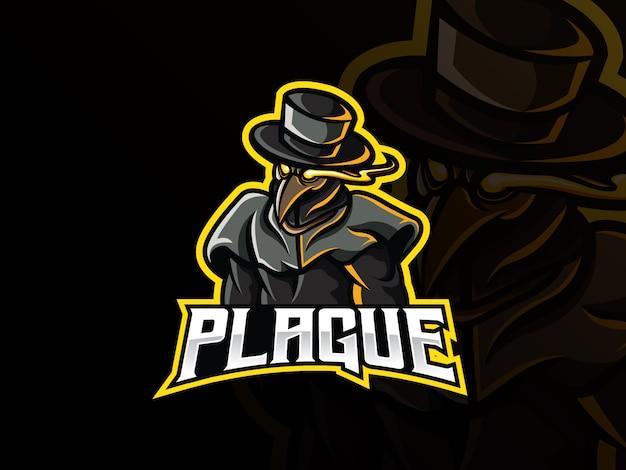Doctor plague mascot