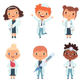 Doctor profession set