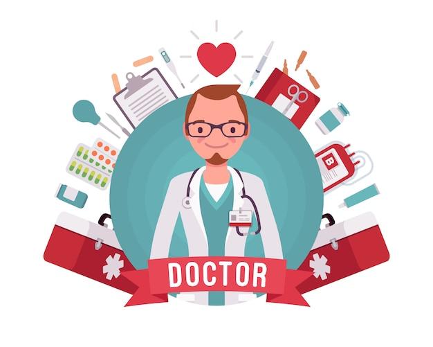 의사 전문 포스터