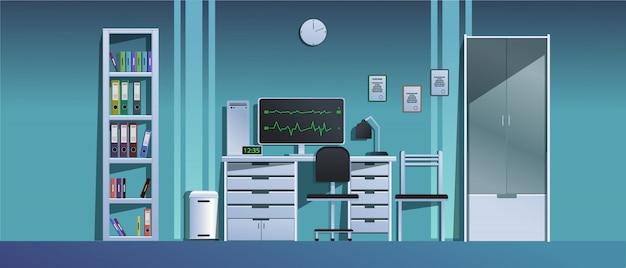 Кабинет врача в больнице. ,