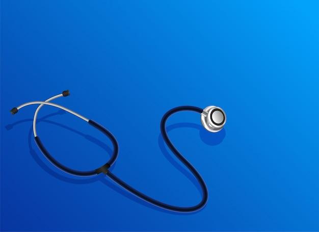 Doctor stethoscope object