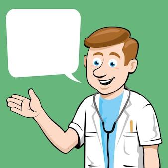 Doctor vector design illustration