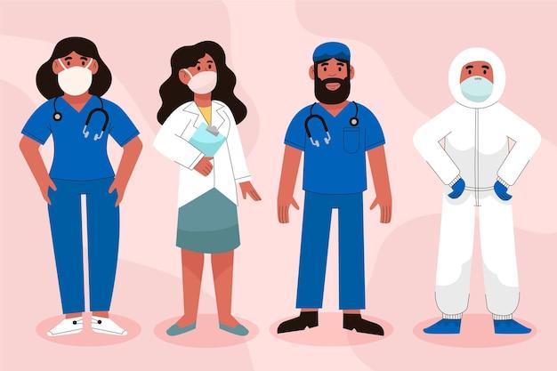 의사와 간호사 그림