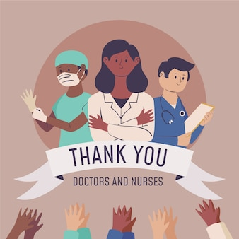 Doctors and nurses recognition