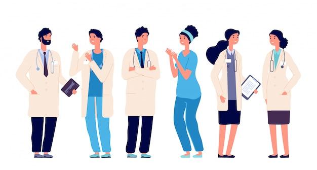 의사 팀.