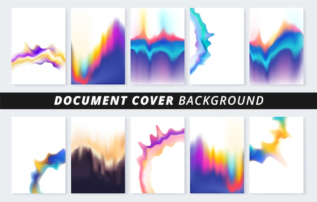 Document cover background for business print copy