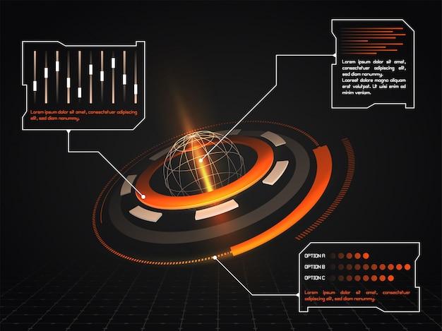 문서 디스플레이 라인 레이더 미래