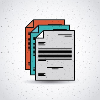 Document file paper text
