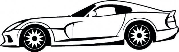 Dodge автомобиль стороне