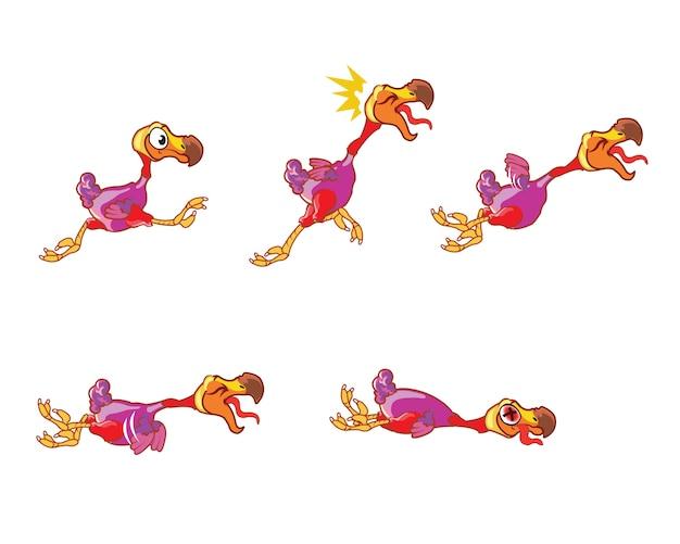 Dodo cartoon animation sprite