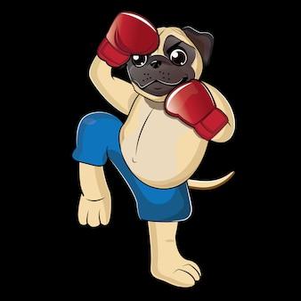 Dog boxer