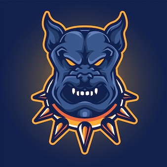 Dog esport gaming logo