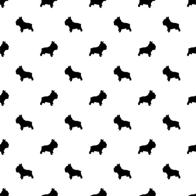 犬フレンチブルドッグシームレス子犬ペットの品種