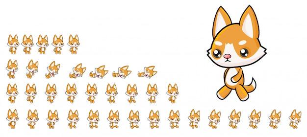Dog game sprites