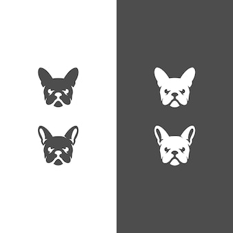 Голова собаки дизайн логотипа