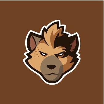 Dog head logo icon