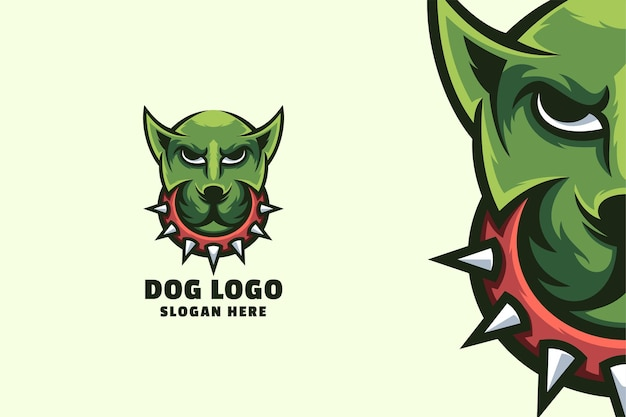 犬のロゴデザイン