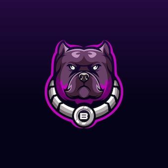 개 로고 디자인