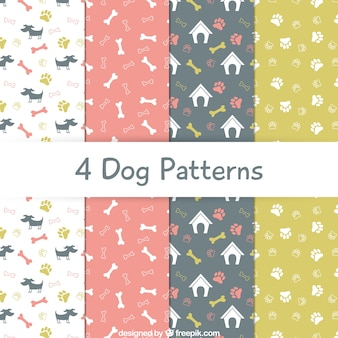 Dog patterns collection