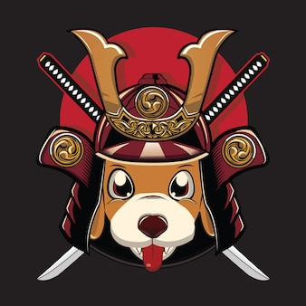 Dog samurai