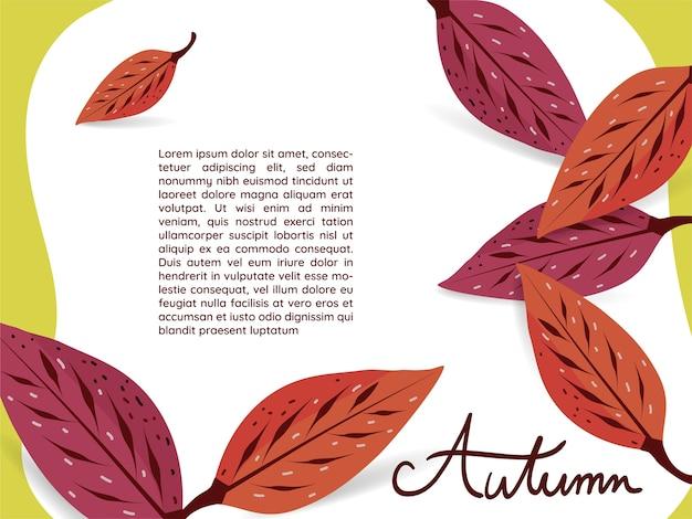 Dogwood autumn leaves wallpaper