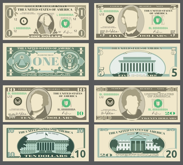Dollar bank notes