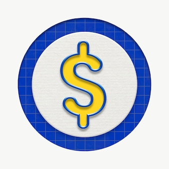 Dollar currency business graphic for marketing
