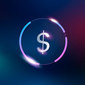 Dollar icon money currency symbol