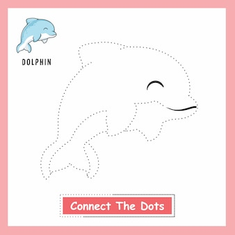 Dolphin connect the dots