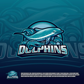 Dolphin green logo