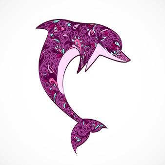 Прыжок с дельфина