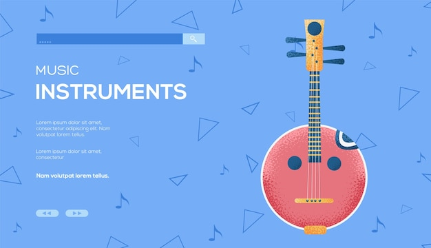 Domra concept flyer, web banner, ui header, enter site. .